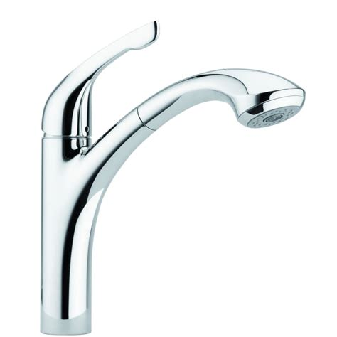 kitchen faucet sprayer diverter valve hansgrohe 04076000 chrome allegro e pull out kitchen