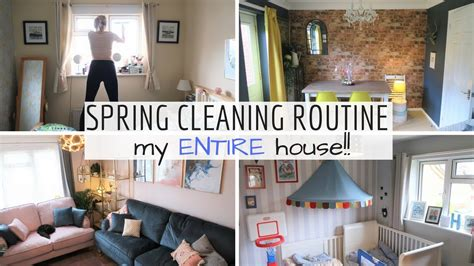 spring house cleaners deep clean and declutter spring cleaning routine 2018