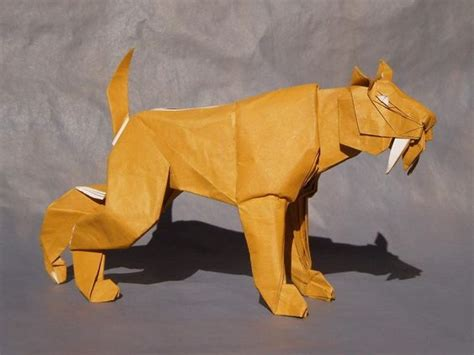 Tiger Origami - origami and tigers on