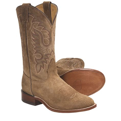 toe cowboy boots for nocona waxy suede cowboy boots for 5624r save 25
