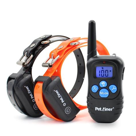 electronic collars petrainer collars 330 yards remote e collar rechargeable ebay
