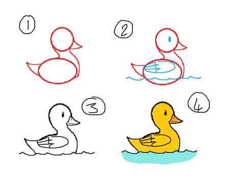 how to draw ducks how to draw duck step 1 brown hairs