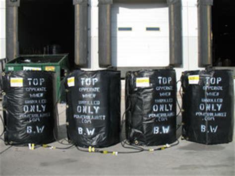 barrel warmer drum heating equipment barrelwarmercom powerblanket insulated heaters