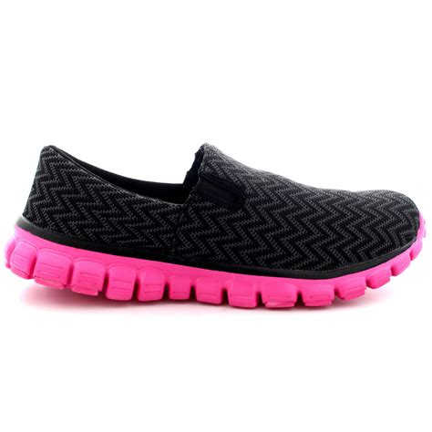 womens athletic slip on shoes womens walking shoes sports work running slip