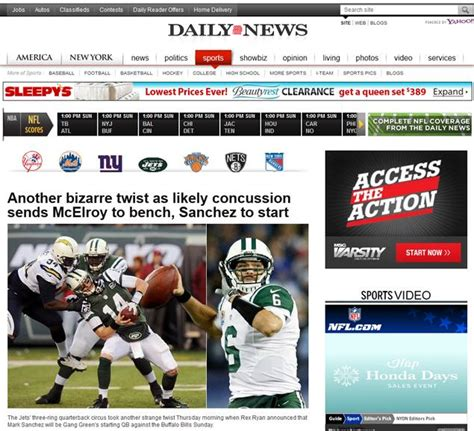daily news sports section best of the web news earns another top 10 from apse ny