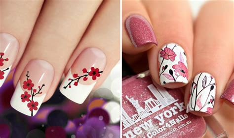 imagenes de uñas de acrilico para primavera 20 ideas para decorar tus u 241 as con flores y llevar la