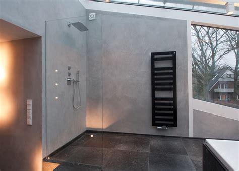 Kalkputz Im Bad by Naturstein Trifft Kalkputz Modern Badezimmer Hamburg