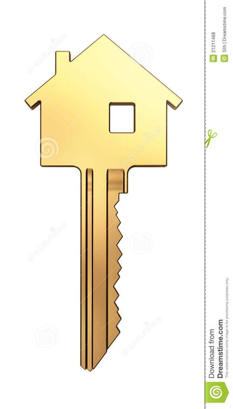 home design gold free gold house key stock illustration illustration of