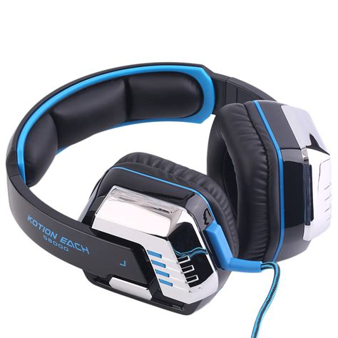 comfortable headset with mic comfortable kotion each stereo gaming headset pc with mic