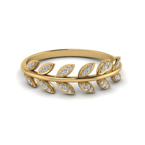 leaf pattern wedding band fascinating diamonds