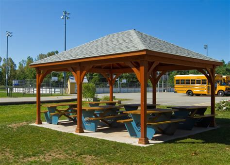 Open Air Gazebo Outdoor Pavilions Amish Country Gazebos