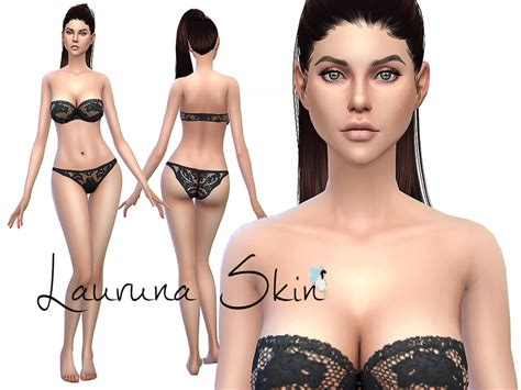 cc sims 4 female skin ms blue s lauruna skin