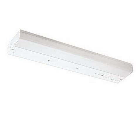 24 T8 Fluorescent Light Fixture Nora Nu 2024el T12 Fluorescent Cabinet Light Fixture 17 Watt T8 Or 20 Watt 24 Inch White