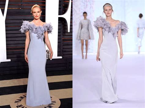 Catwalk To Carpet Kate Bosworth In Chanel Couture by Runway To Carpet In 2016 Couture