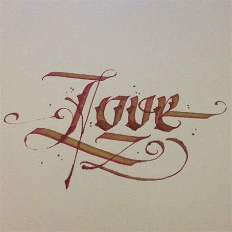 love calligraphy tattoo pin by patrick cabral on typography pinterest