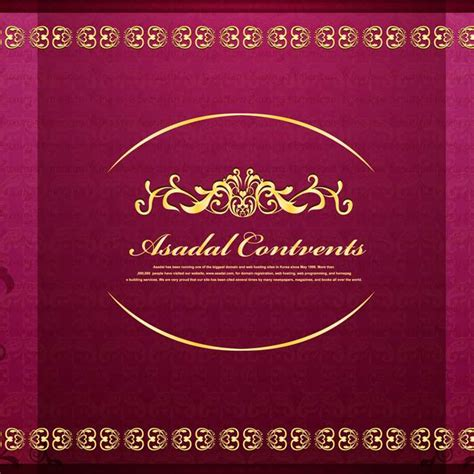 muslim wedding card templates notice worthy muslim wedding invitations