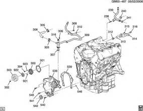 engine asm 3 5l v6 part 3 front cover and cooling