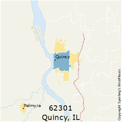 zip code map quincy il best places to live in quincy zip 62301 illinois