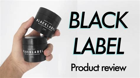 black label hair product black label men s hair styling products review giveaway