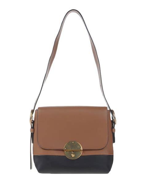 Marc Two Pocket Handbag marc shoulder bag in brown lyst