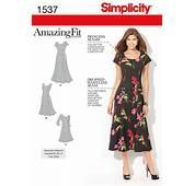 Plus Size Dress Patterns Simplicity  Car Interior Design