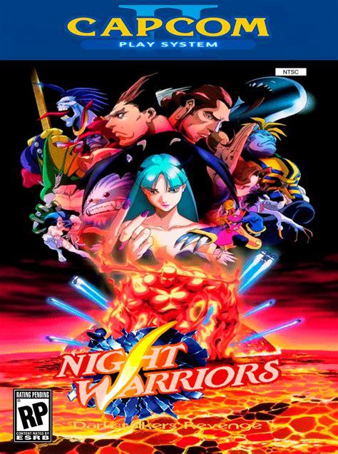 night warriors darkstalkers revenge details launchbox