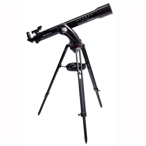 best telescope for beginners best beginner telescope celestron cosmos 90gt wifi