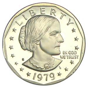 1979 s susan b anthony dollar 1 pcgs proof 70 dcameo