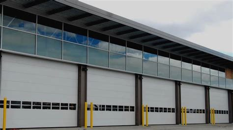 Non Insulated Garage Door by Best Non Insulated Steel Commercial Garage Doors Ri Ma