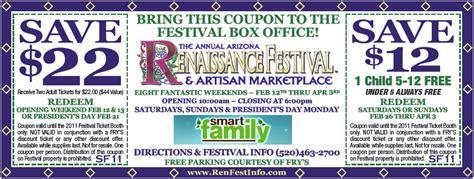 phoenix fan fest promo code renaissance festival colorado coupon 2015 2017 2018
