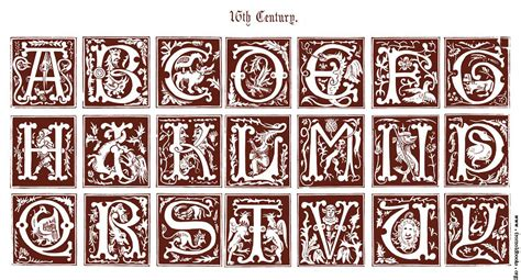 Decorative Alphabets And Initials by 16th Century Ornamental Alphabets Ancient And Medi 230 Val