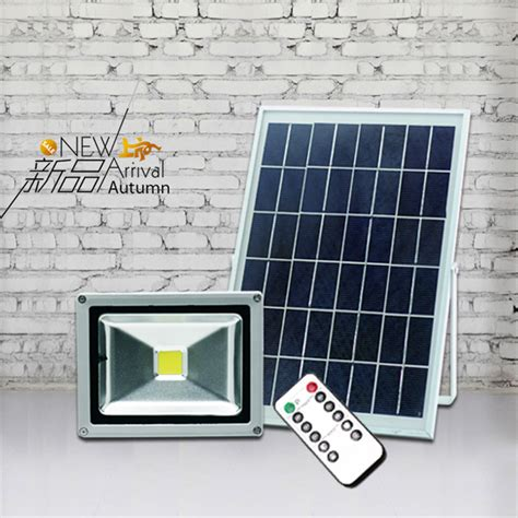 solar lights with remote solar panel super bright 20w led solar panel floodlight remote control