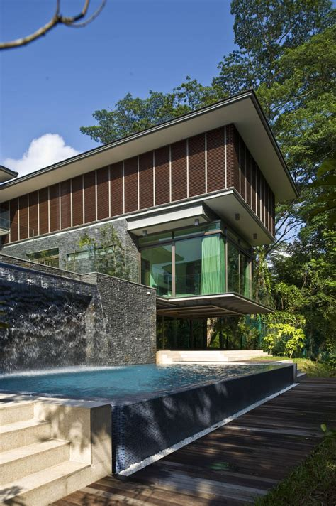 Zen Home Design Singapore Zen Inspired Residence In Singapore Encompassed By