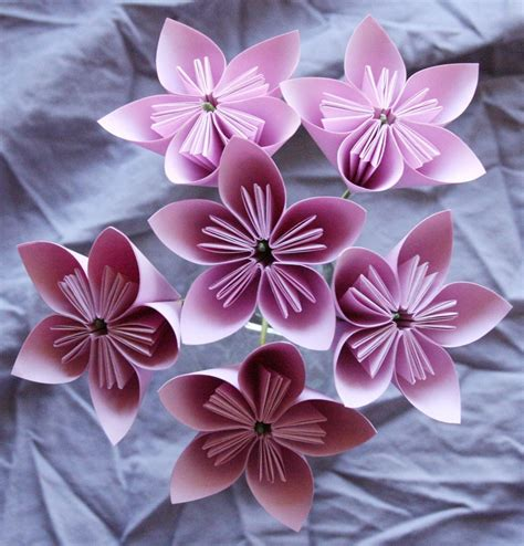 Origami Paper For Flowers - how to origami flowers 171 embroidery origami