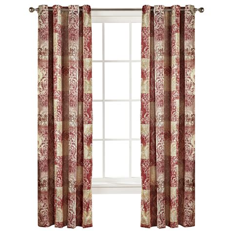curtains etc vogue grommet curtain panel by collections etc ebay