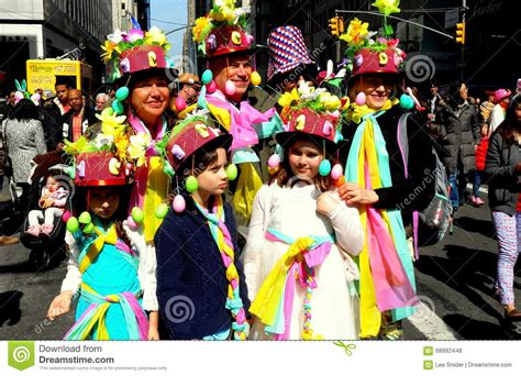 new year parade participants new york city 2016 easter parade participants editorial