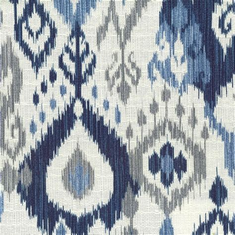 Navy Blue Ikat Curtains Designs Navy Blue And White Ikat Curtains Curtain Menzilperde Net