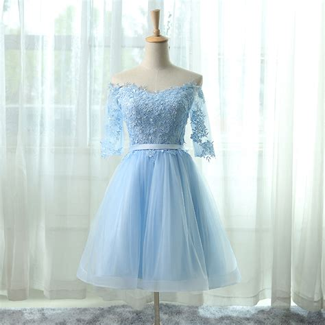 light blue graduation dress photos cheap grey light blue homecoming dresses