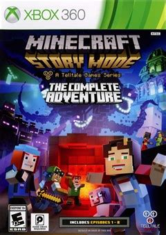 Kaset Ps4 Minecfart Story Mode The Complete Adventure Murah rent minecraft story mode the complete adventure for xbox