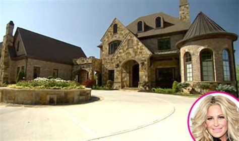 kroy biermann house kim zolciak s house tour see her elevator pool exclusive video us weekly