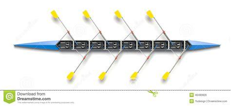 roeien mannen 8 eight men rowing boat stock illustration image 46480826