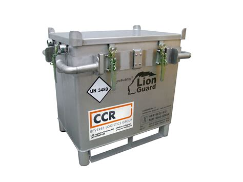 Shelf Lithium Ion Battery by Storage Transport Recyling Solutions For Industrial