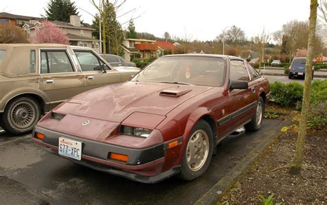 1984 nissan 300zx turbo parked cars 1984 nissan 300zx turbo