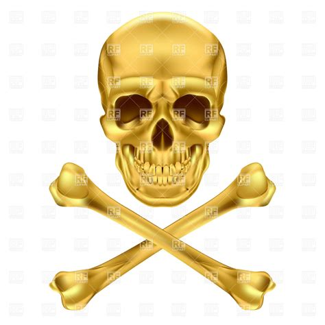 gold skull gold skull and crossbones 16291 objects