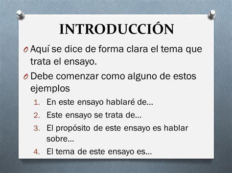 como se dice themes en español cmo hacer un ensayo ejemplos de ensayos c 243 mo hacer