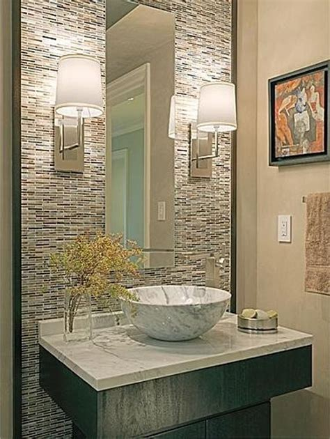 Powder Room Tile Ideas | powder bath design attractive powder room design ideas