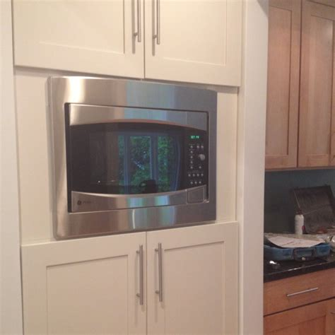 Microwave In Pantry by Pantry Area With Built In Microwave Kitchen Improvement