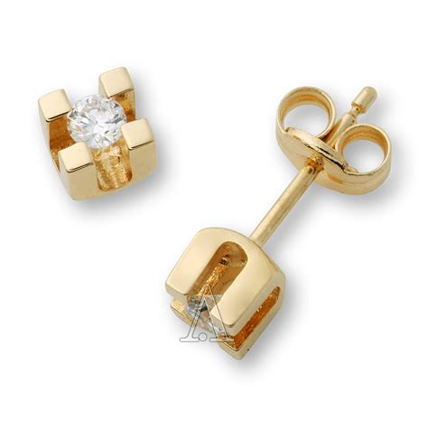 miore earring ma69ey s yellow gold studs earring