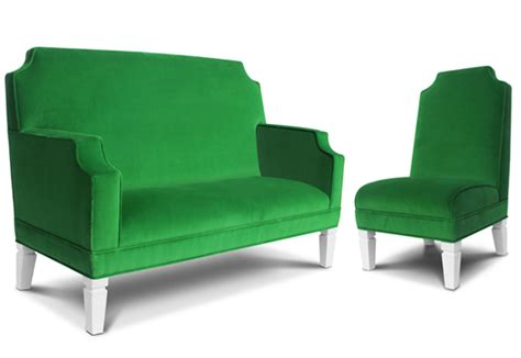 Furniture Green by Decorating With Pantone S 2013 Color Of The Year