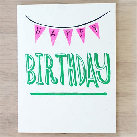 birthday card template skster happy birthday flags card on storenvy